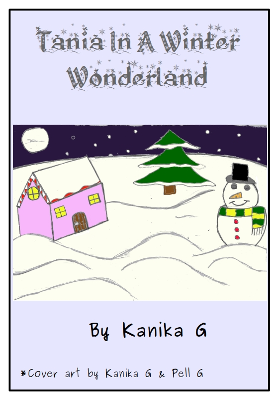 Tania In A Winter Wonderland cover